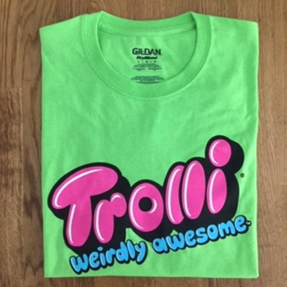 a38f4c57f Gildan Shirts | Nwot Trolli Weirdly Awesome Graphic Tee | Poshmark